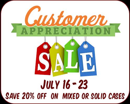 Asheville Wine Market July 2017 Customer Appreciation Sale