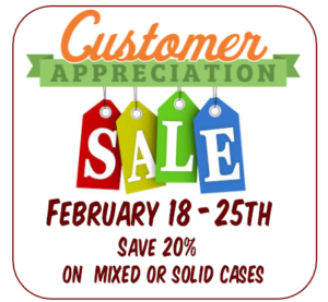 sale week feb 2018