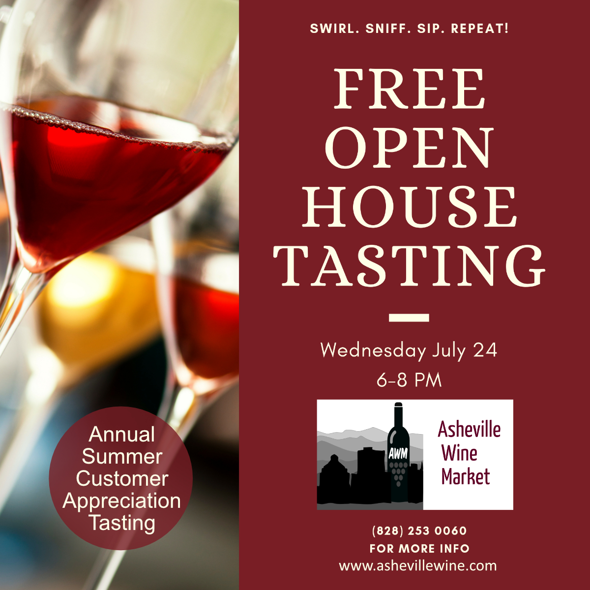 Asheville's best free, annual open house tasting