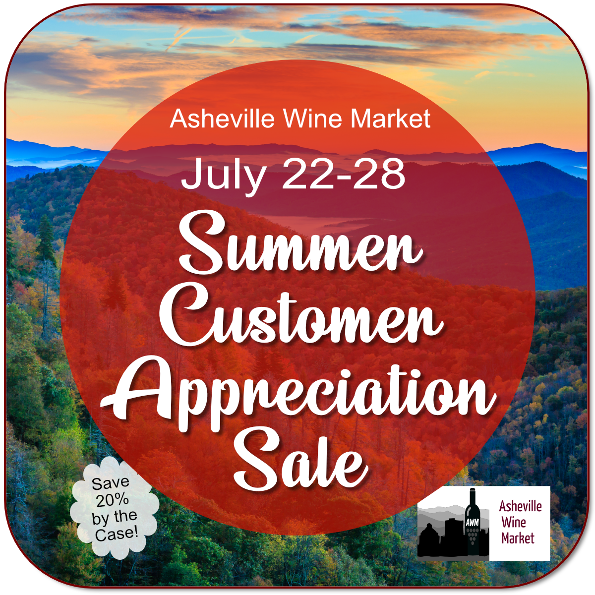 It's time for our annual Summer Customer Appreciation Sale