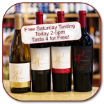 Join us for an all American tasting tonight with 3 from the West Coast