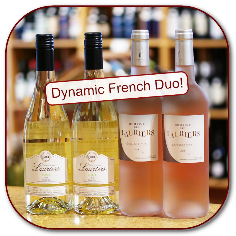Domaine Lauriers Rolle and Rose