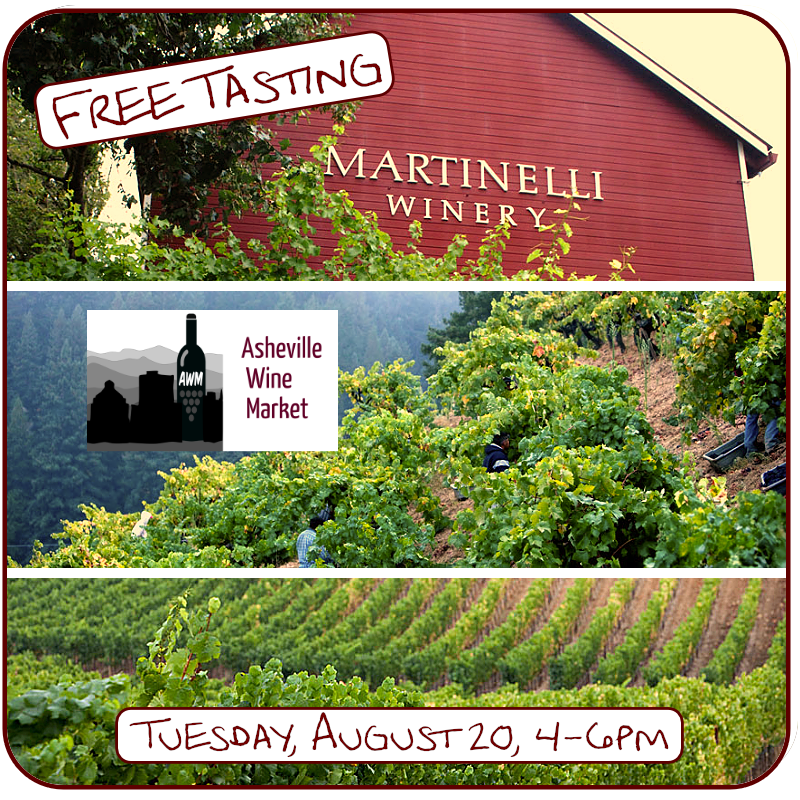 Stop in to taste new releases from this famous West Coast winery